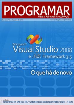 Revista PROGRAMAR: 16ª Edição - Outubro 2008